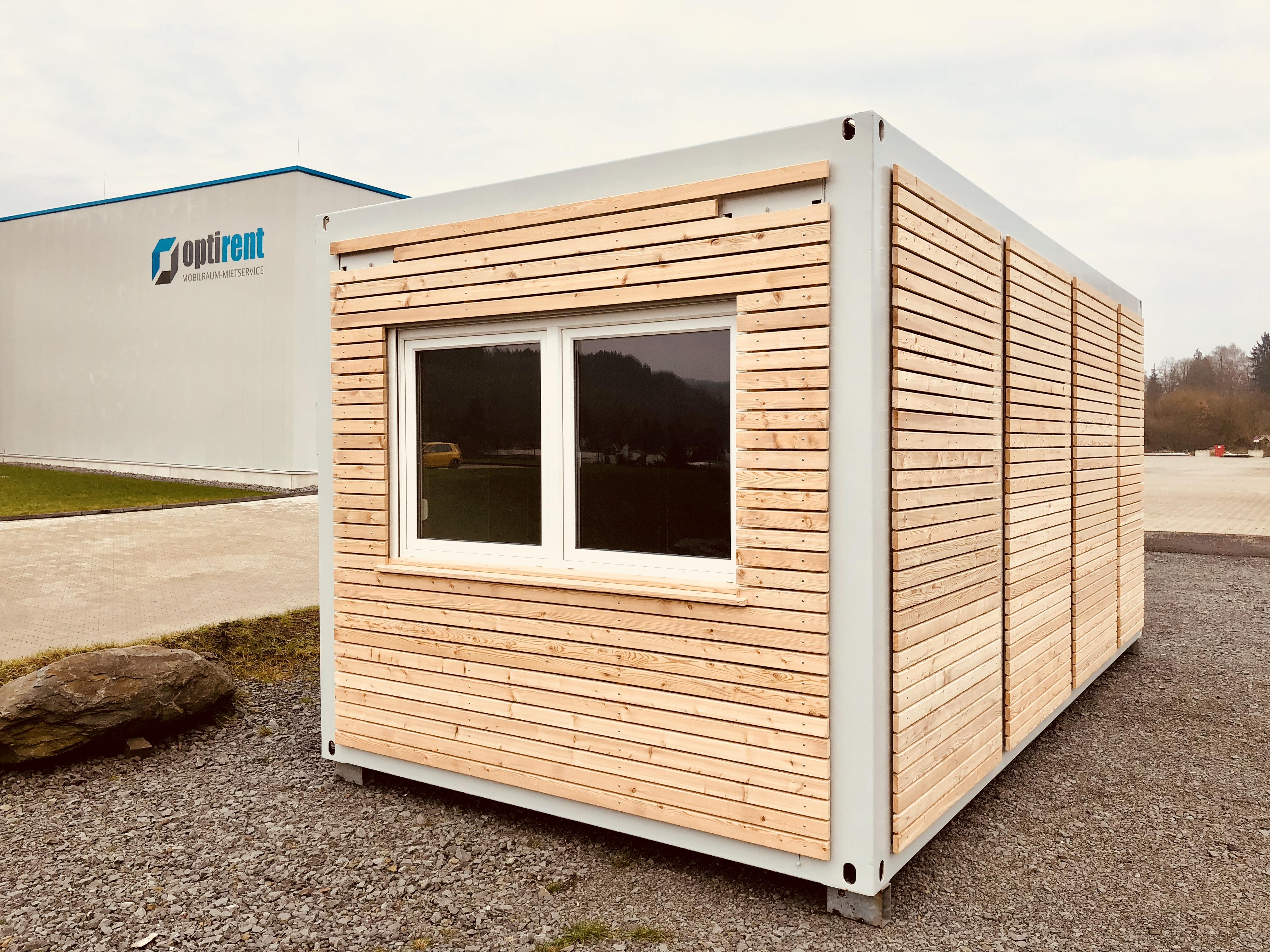 Turbo Rhombusprofile Container Fassaden – OPTIRENT Mobilraum-Mietservice CF15