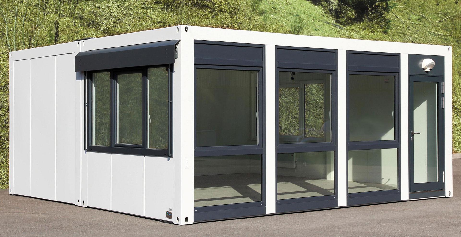 Container T1 S Stapelbar Optirent Mobilraum Mietservice Gmbh